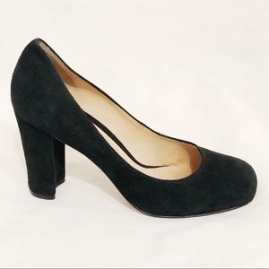 Boutique 9 Black suede pumps